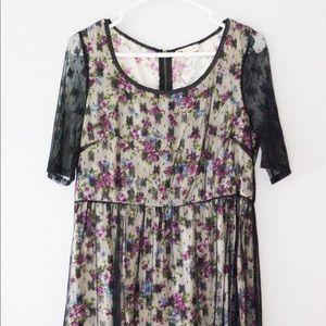 Floral Lace Dress | ModCloth
